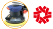 GPS-303 Air Orbital Sander Acak